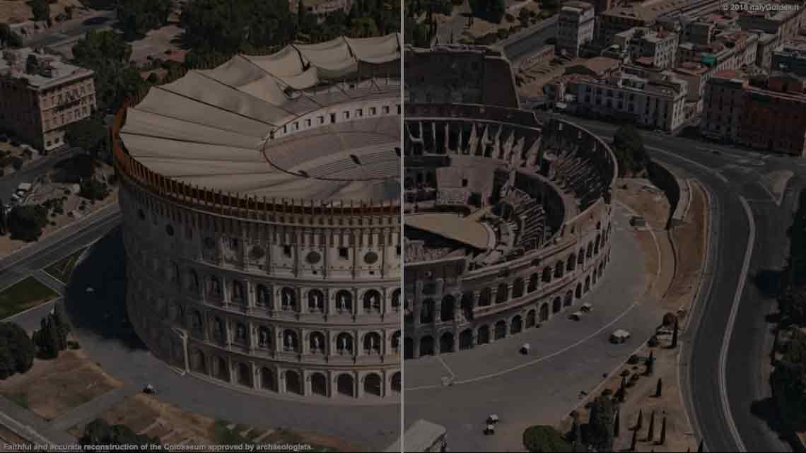 Colosseum, Rome - 3D reconstruction - ItalyGuides it