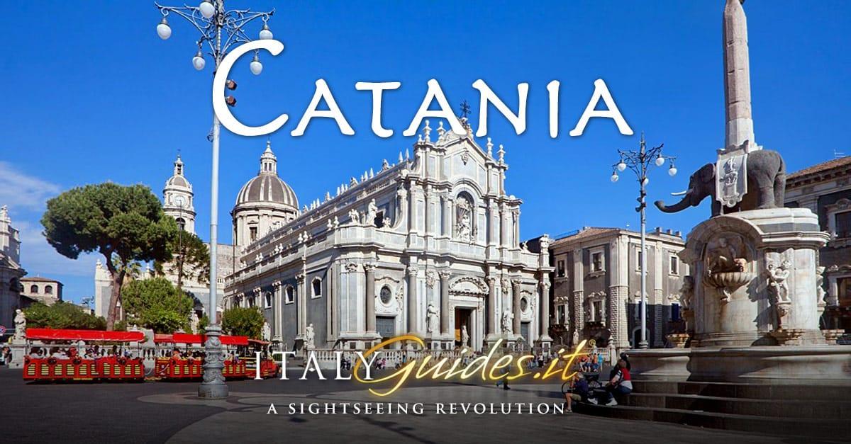 Virtual Tour Of Catania Sicily Italy History Facts