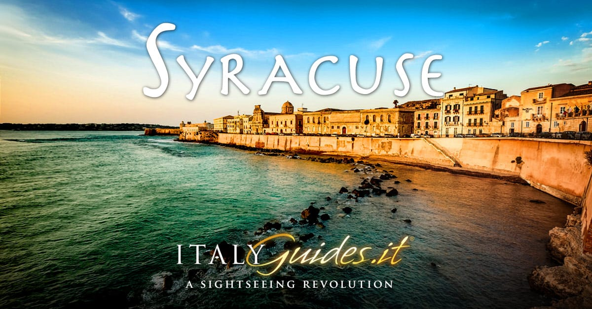 Syracuse Siracusa Map Interactive map of Syracuse Sicily